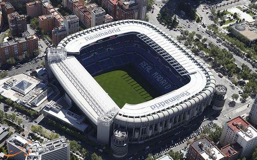 سانتیاگو برنابئو ورزشگاه رئال مادرید