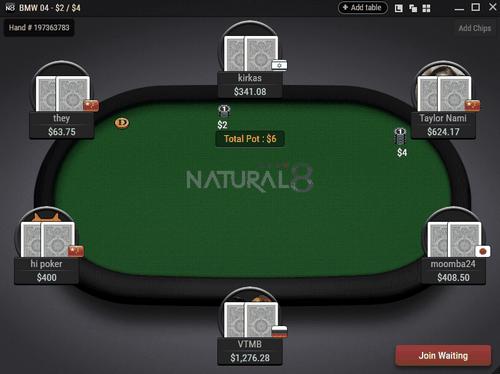 شرط بندی در سایت Natural8 با پول واقعی